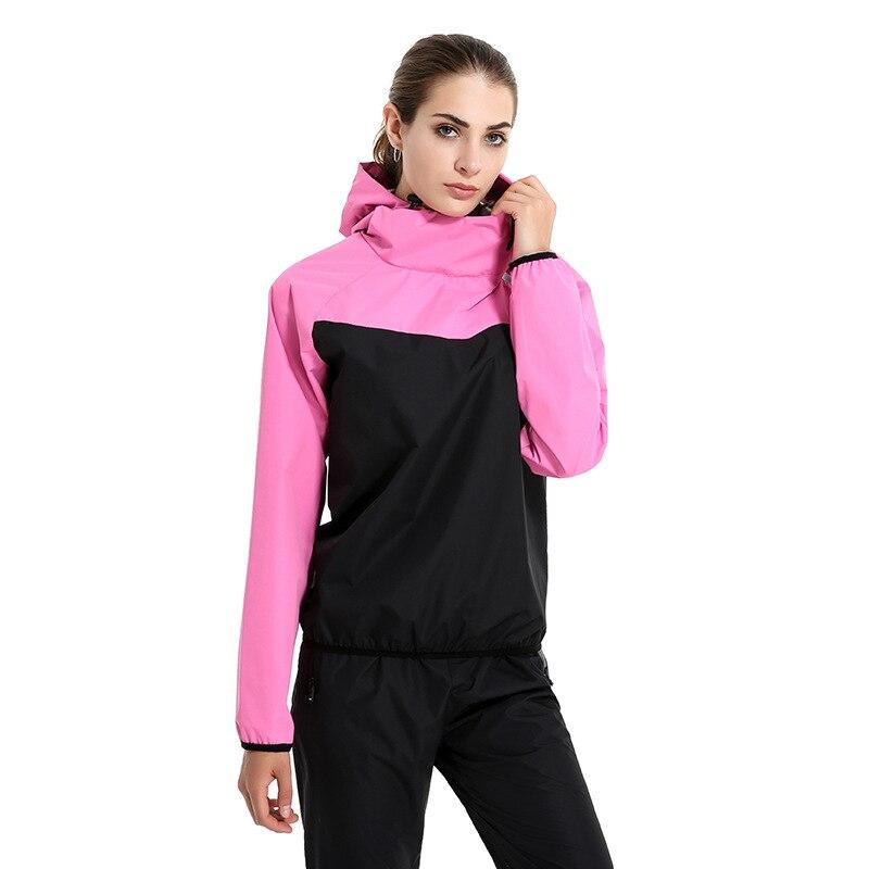 Courir Sport Femmes Définit Survêtement Fitness Hoodies + Pantalon 2 pcs Yoga  Définit Sport Formation Jogging 952c1787012