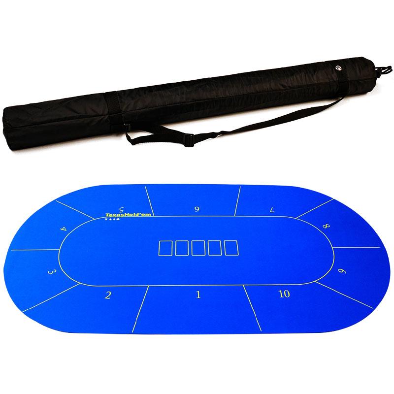 Livraison gratuite par EMS Poker nappe Texas poker nappe 4 options taille en 0.9*1.8 m adapté pour 10man - 6