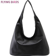 FLYING BIRDS 2016 women handbag Hobos women tote brands purse women's pouch Bolsa Feminina shoulder bag female bag LS8508fb