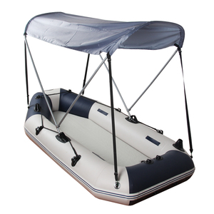 Image 2 - bimini top sunshade shelter flatable boat pvc boat dinghy raft accessory sunshine protection pvc fishing boat Awning tent Canopy