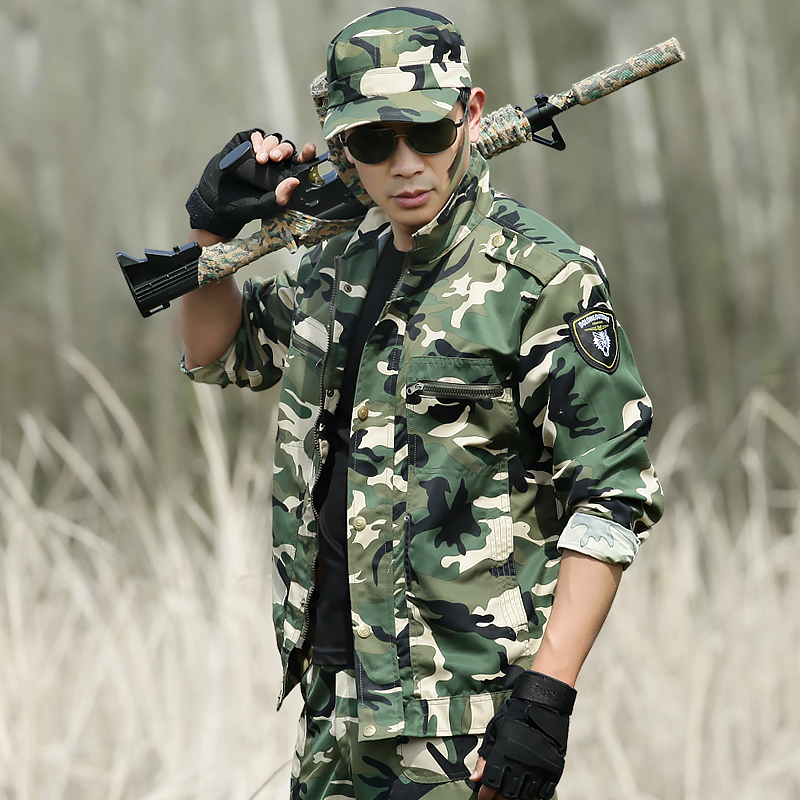 Outdoor Hunting Clothing Camouflage Mens Military Tactical Hunting Clothes For Women Men Ghillie Suit Combat Shirt+Tatico Pants