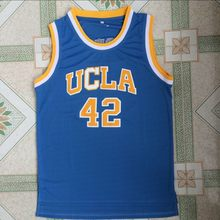 9b3761eac Jazz Vaiten New Brand Kevin Love 42  Basketball Jerseys UCLA College  Stitched Shirts Blue For Men