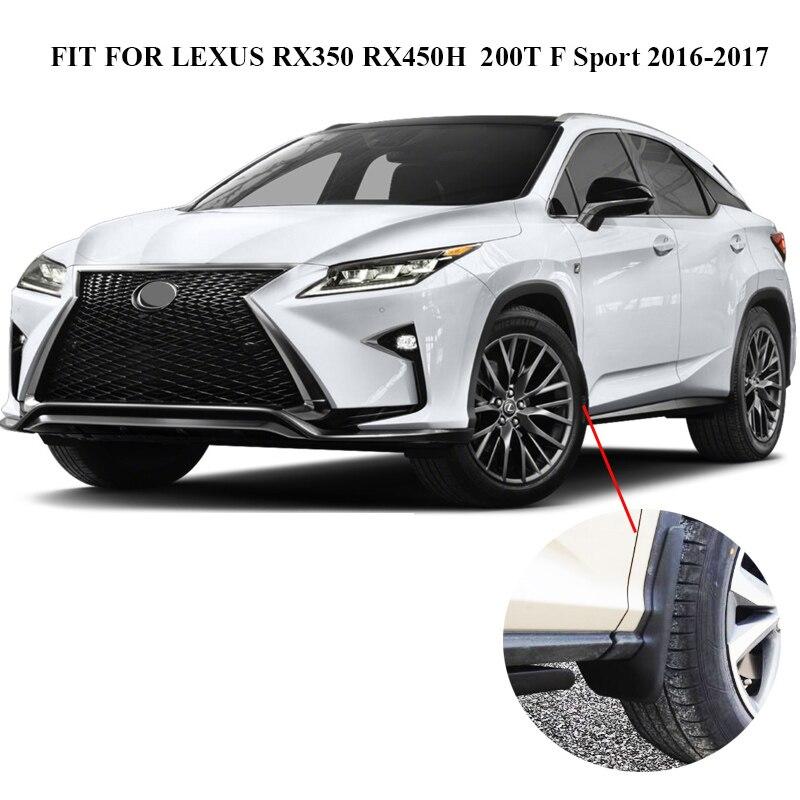 For Lexus Rx Rx350 Rx450h Rx200t Rx350l 2016 2017 2018 Mudflaps