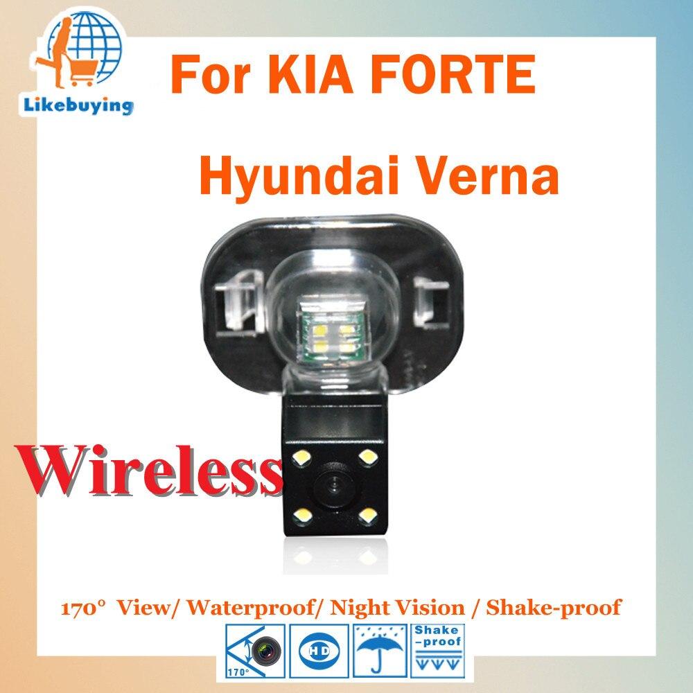 Sans fil 1 4 couleur CCD HD Parking caméra de recul pour KIA FORTE    Hyundai Verna Night Vision   170 grau c4f7bc924de