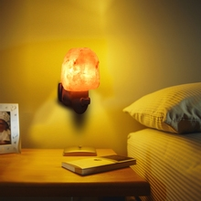 E14 15W Rotatable Cylinder Himalayan Salt Lamp Natural Shaped Salt Rock Night Light Hand Carved Crystal Wall Lamp youoklight 7w warm white salt lamp heart shaped wall decoration night light 120v 1pc