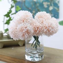 Klonca High-grade Luxury 24cm 10pcs/lot Fake Flower Artificial Chrysanthemum for Wedding Bonsai  Home Decoration