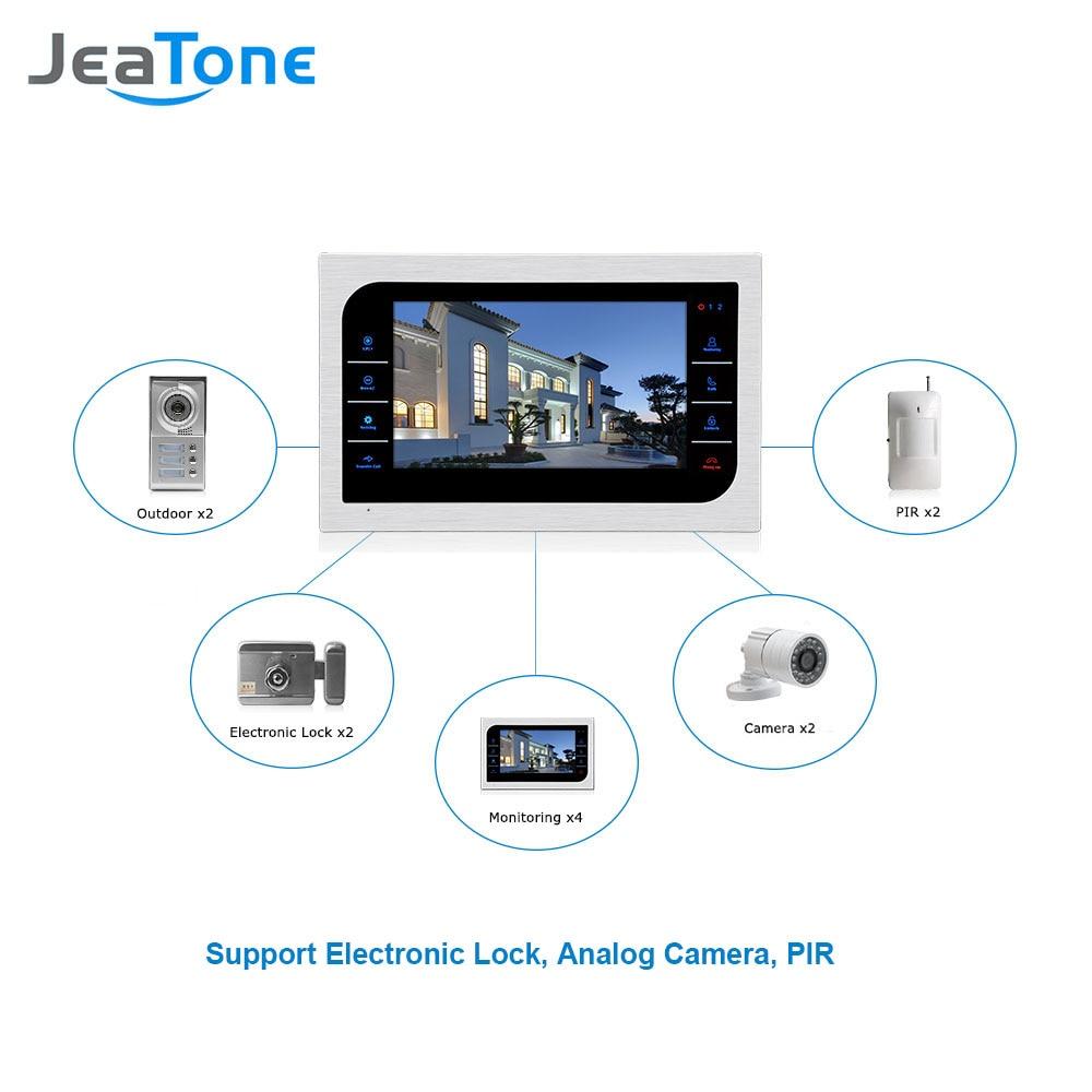 Видеодомофон JeaTone для домашней - Безопасность и защита - Фотография 2