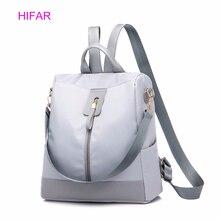 Fashion Women Zipper Backpacks Multifunction Oxford Cloth School Bag Backpacks For Girls Female Vintage Backpack Shoulder Bags все цены