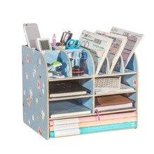 Paper Storage Trays Desk Organizer Tray Desktop Magazine Holder Book Display Stand School Desk Accessories Joy Corner