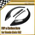 Автомобиль для укладки Для Honda Civic FD2 М и М FRP Стекловолокно Задний Широкий Колесных Арок 4 шт. В на складе
