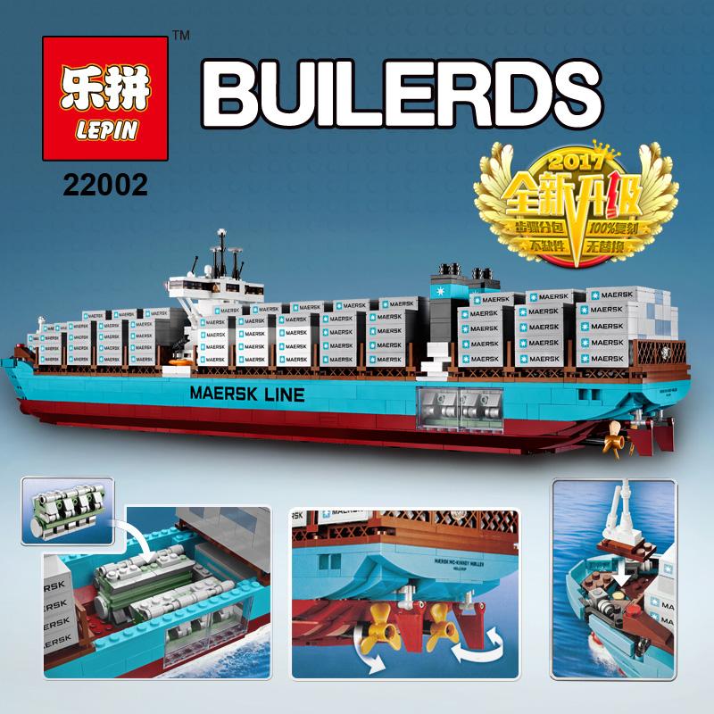 Lepin-22002-New-1518Pcs-Maersk-Line-Triple-E-Toys-10241 (2)