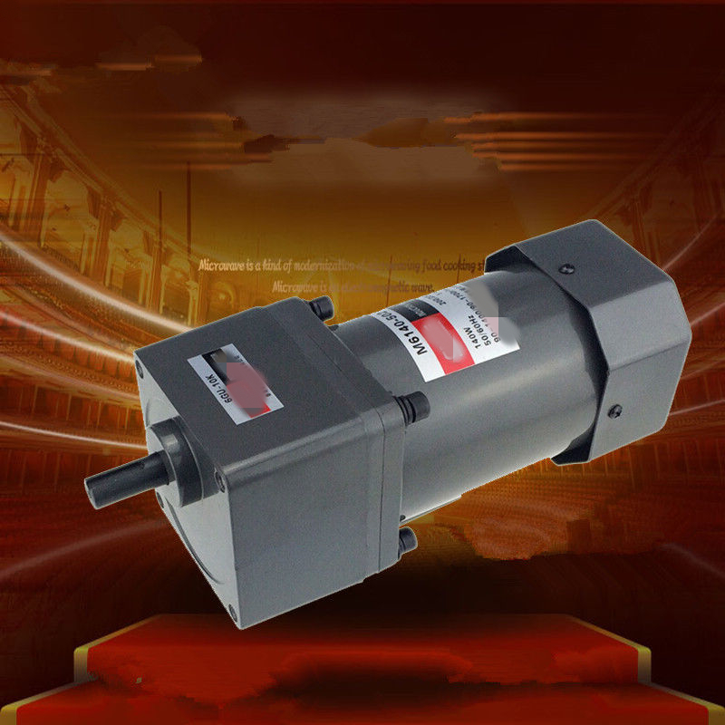 Three-Phase 380V 220V Single Phase 220V AC Vertical Micro Gear Motor High Torque Adjustable speed 60W M6140Three-Phase 380V 220V Single Phase 220V AC Vertical Micro Gear Motor High Torque Adjustable speed 60W M6140
