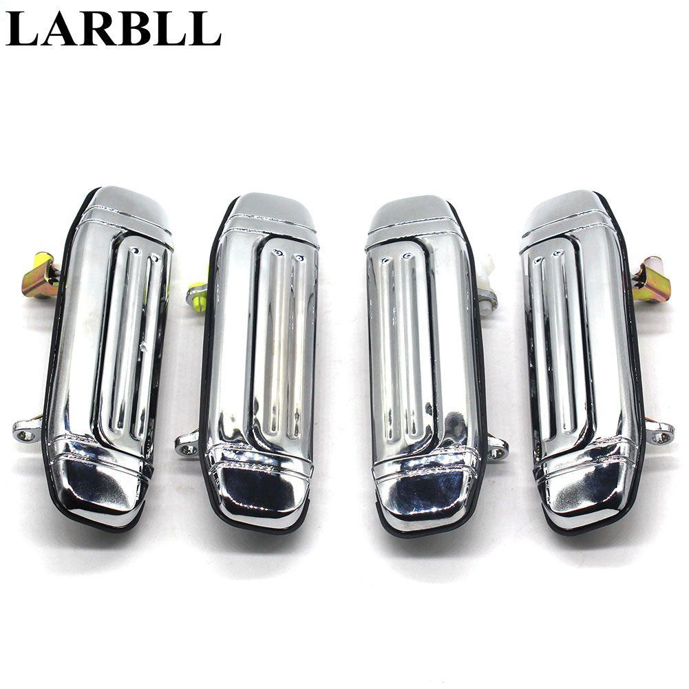 Larbll 4 шт./лот задняя дверь ручка Нержавеющаясталь покрытие для Mitsubishi MONTERO PAJERO v46 v31 v32 V33 1992-2000