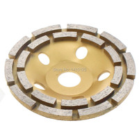 5 Inch 125mm Double Row Diamond Grinding Cup Wheel Disc Arbor 7 8 3 4 Abrasive