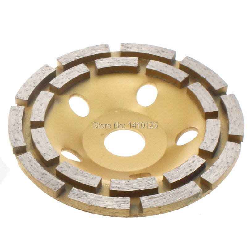 "4"" T-Segment Diamond Grinding Cup Wheel for Concrete Stone Masonry 7//8/""-5//8"""