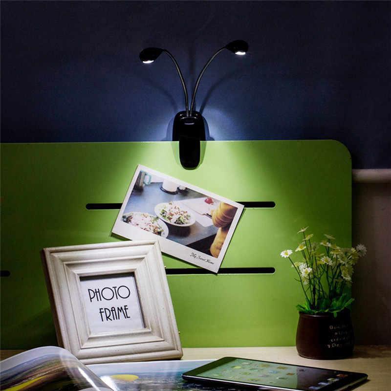 Laideyi 8 светодиодных USB музыкальный двухполюсный Настольные лампы Студия Стенд свет клип на лампа глаз-Средства ухода за мотоциклом свет книга прямая доставка 828