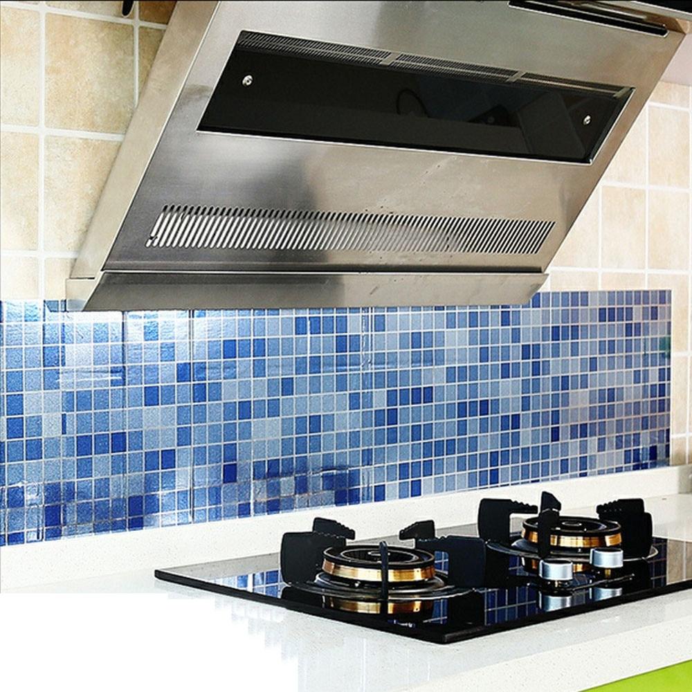 Anti oil Wall Stickers High temperature Anti oil paste kitchen Self ...