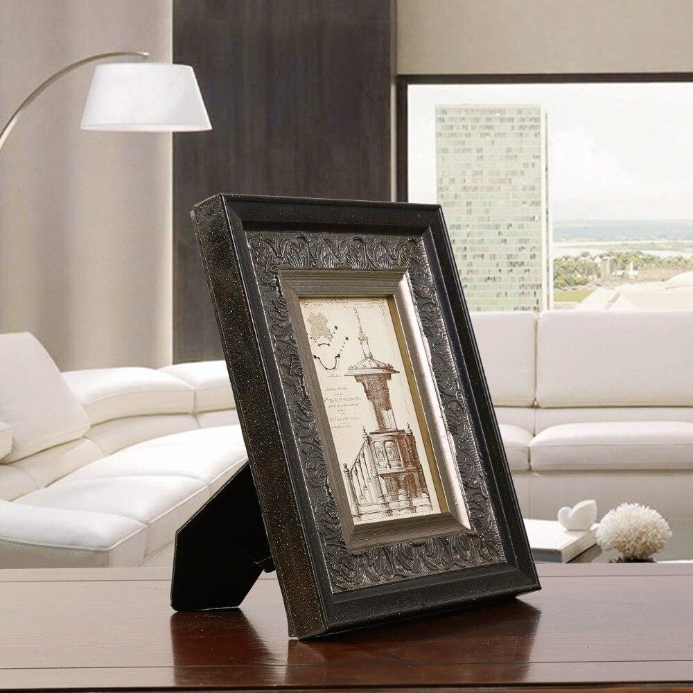 Top Quality Wooden Photo Frame Picture Frame Vintage Fotoframe ...