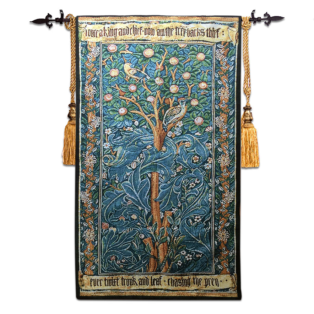 Jacquard Wall Hanging Tapestries Gebulin Retroeuropean