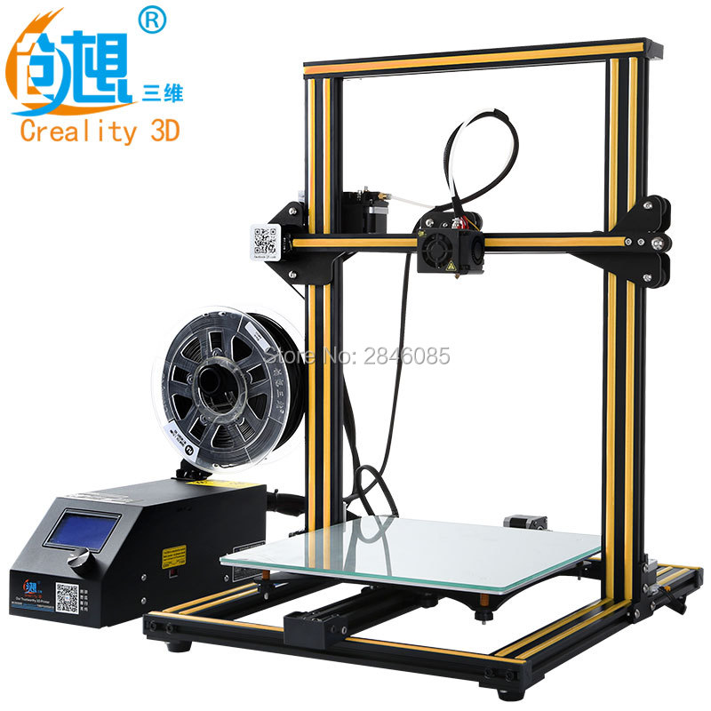 CREALITY 3D CR 10S CR 10 Optional 3d Drucker Kit Metallrahmen Hoher  Auflösung Stabile LCD Display Filamente