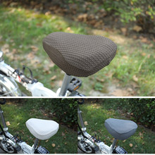 Bicycle chair cover modern Polyester blended Cushion cover elasticity Seat cover 12 colors custom made(China)