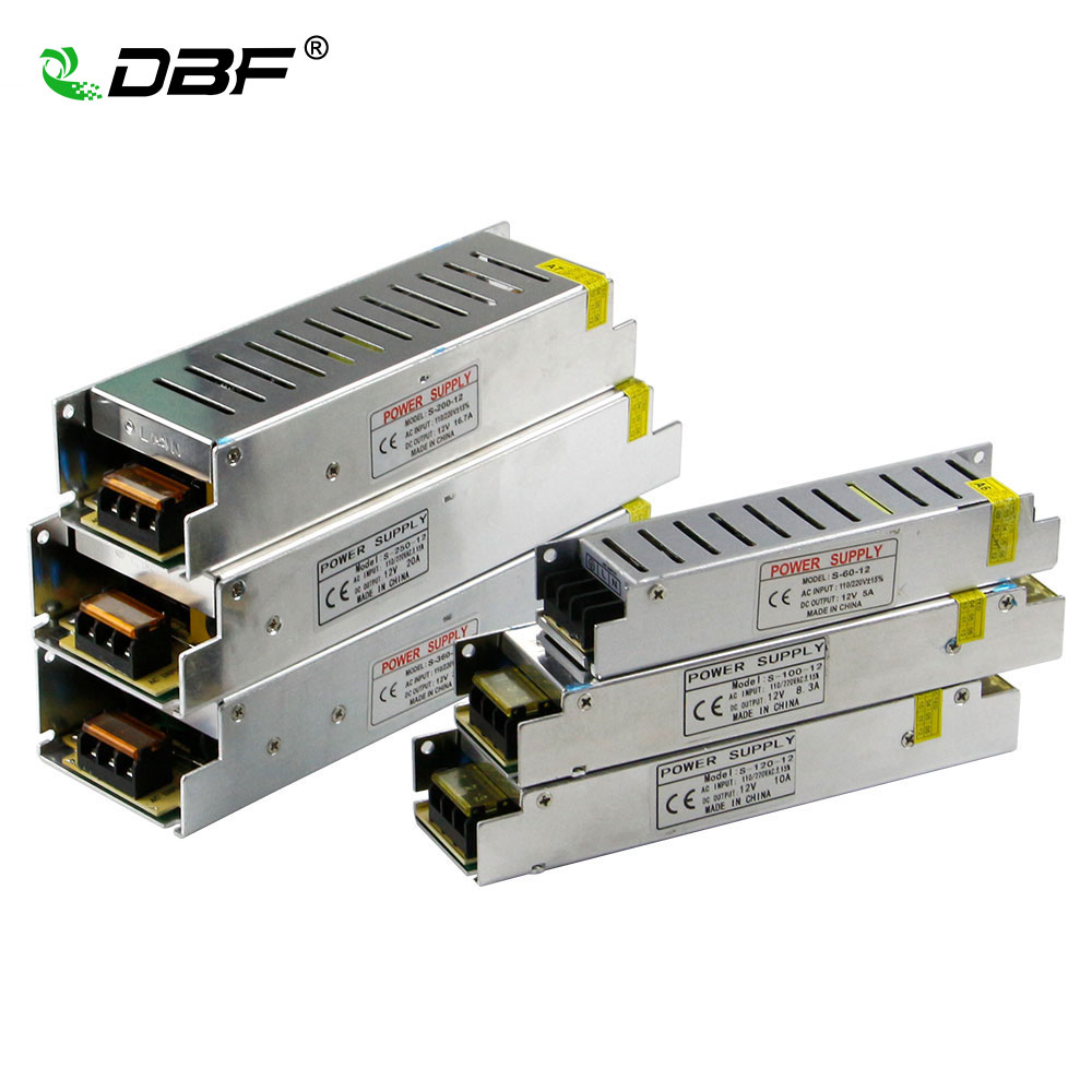 5V 6A /& 12V 2.5A Power Supply 220VAC Output Utini AC to DC Dual Output Switching Power Supply D-60A 110