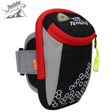 TANLUHU 6inch Outdoor Sports Running Bags Arm Bags Hiking Exercise Bag Multi-Functional Outdoor Fitness Arm Belt Equipment