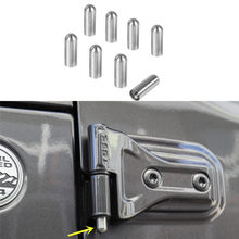 2Doors/4Doors Pin Guides Protective Hinge Scratches Anti-rust hinge Fit For Jeep Wrangler TJ JK JL 2007-2018 Exterior Styling