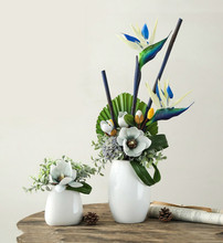 Large Bird Of Paradise Stems - 90 Cm Long Artificial Strelitzia Flowers Wedding Fake Event Party