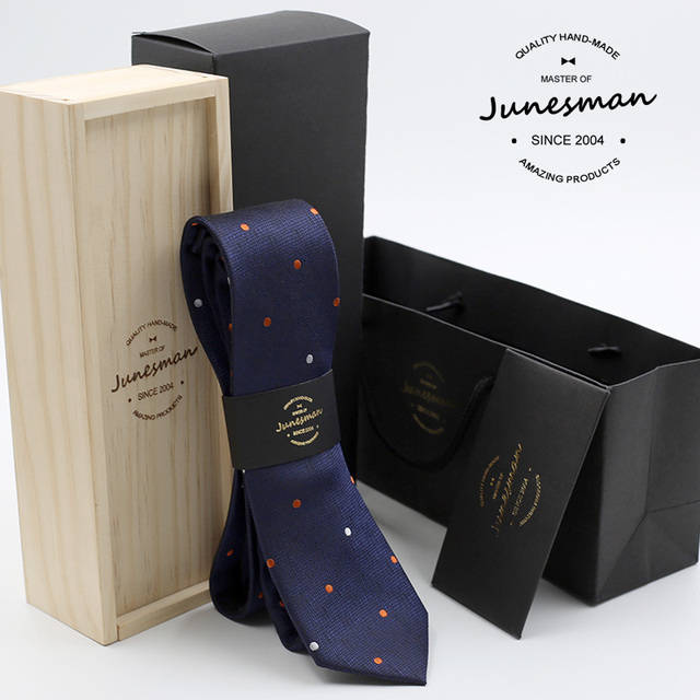 2016 neck tie man slim wedding necktie male skinny mariage kravat gent narrow designer neckwear boy friend gift with wool box