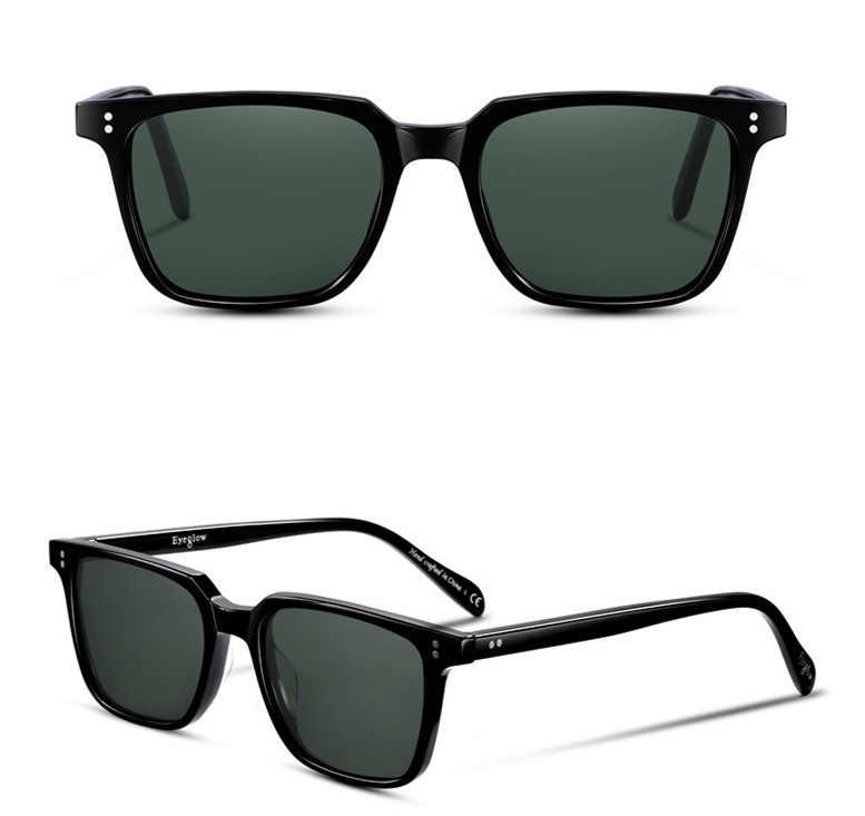 a83fa45ad28 ... EyeGlow 6501S Brand design square polarized sunglasses Men and women  retro UV400 drive outdoor fashion eyewear ...