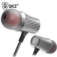 Наушники qkz X9 Clear Voice Fone де ouvido металлические наушники-вкладыши Super Bass Go Pro Наушники мобильный компьютер MP3 Универсальный 3.5 мм