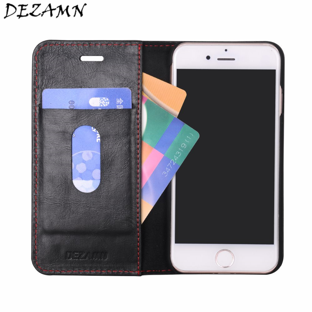 Classic Business Phone Bag Wallet For iPhone 6 6S 7 6Plus 7Plus Luxury PU leather Magnetic Flap Phone Covers For iPhone 6 6S 7