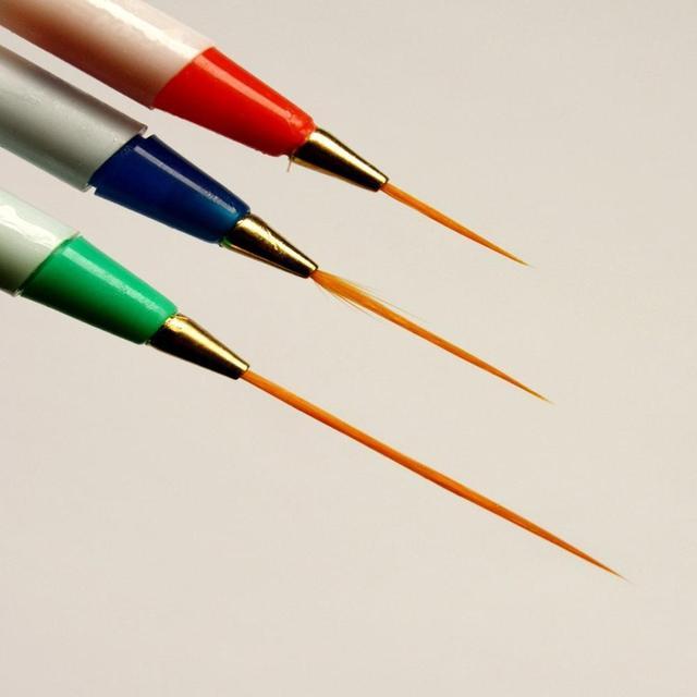 Nail art striper brush images nail art and nail design ideas 3 pcs sable nail art line drawing brushes 3 pcs dotting pen 3 pcs sable nail prinsesfo Choice Image