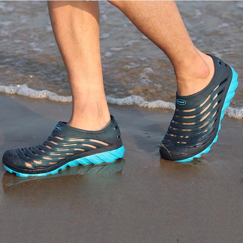 Hole shoes sandals male bird nest slip-resistant breathable summer sandals Men
