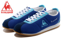 Le Coq Sportif Women's Running Shoes,High Quality Embroidery Logo Le Coq Sportif Women's Athletic Shoes Sneakers Navy Color 1