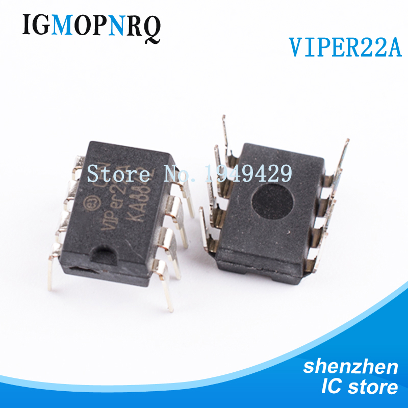 10PCS free shipping VIPer22A DIP8 cooker  chip new original10PCS free shipping VIPer22A DIP8 cooker  chip new original