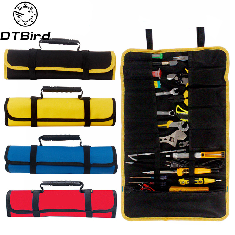 Pouch Organizer-Holder Wrench-Bag-Tool Pocket-Tools Roll-Storage Oxford-Cloth Folding