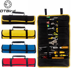 Многофункциональный Оксфорд ткань складной ключ Сумка рулон инструмент для хранения карман сумка для инструментов портативный Чехол