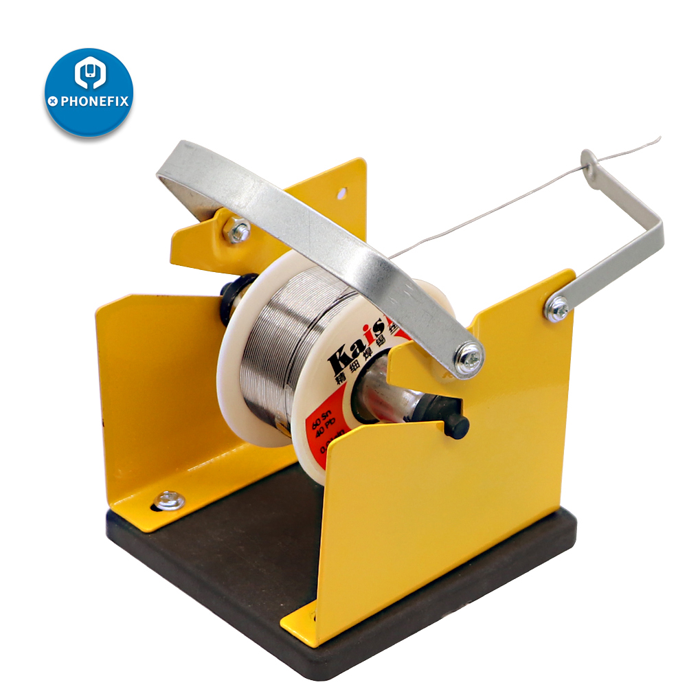 Universal Solder Dispenser Reel Metal Solder Reel Stand Solder Wire Not Included Dispense Solder Roll From The Spool