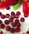 O envio gratuito de 1000 unidades/pacote barato 7mm grânulo de madeira com cheiro de rosas, grânulo do rosário, vermelho talão de rosário religioso special offer