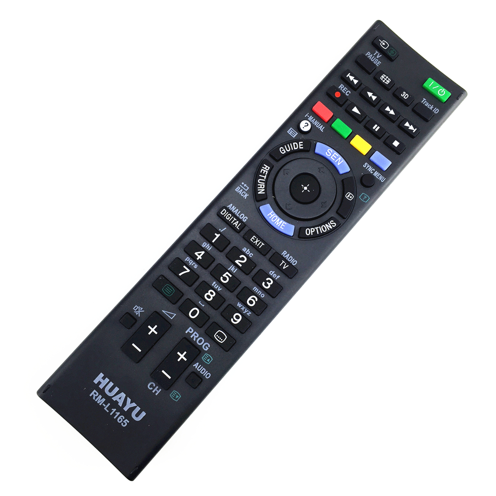 remote control suitable for Sony tv LCD TV 3d led smart RM-YD018 and more RM-GD001 RM-GD003 RM-ED012 RM-GD029 genuine hongdak rm s1am 1 2 lcd wired remote control camera timer for sony alpha dslr a100 more
