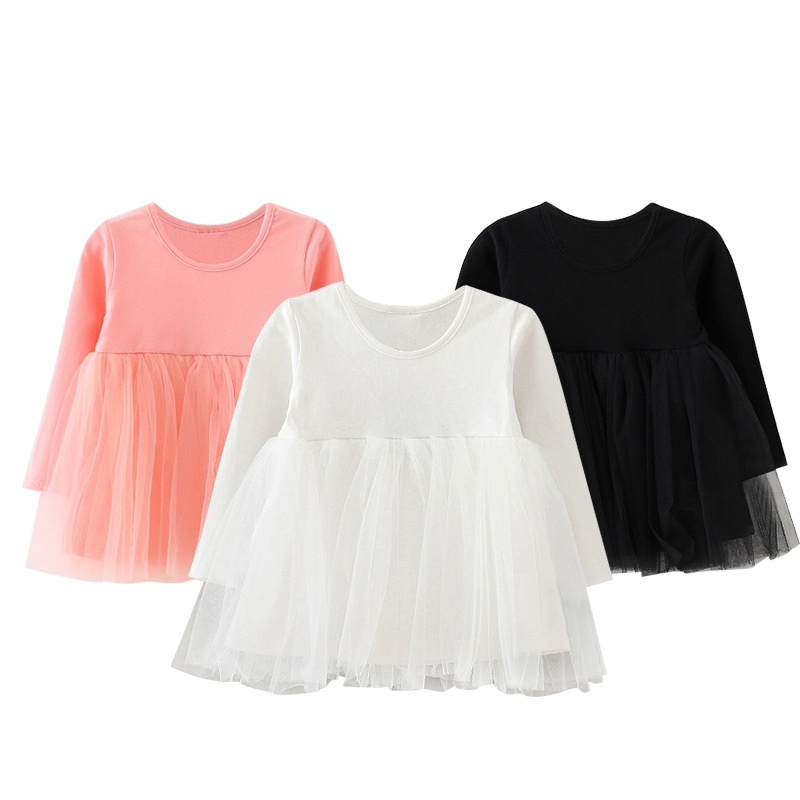 Dress Long-Sleeve Baby-Girl Infant Kids Cotton Casual Summer Newborn Hot-Selling