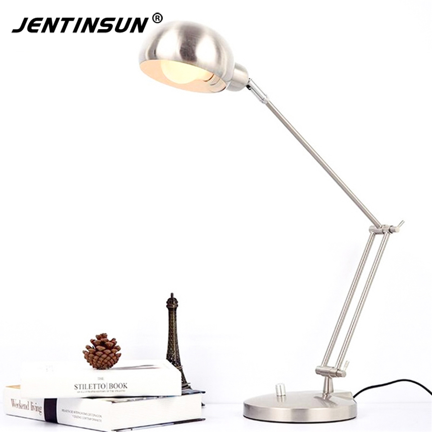 Morden Foldable Aluminum Led Table Lamp Book Reading Light E27 Bulb Lamps For Office Bedroom Study Reading morden foldable aluminum led table lamp book reading light e27 bulb lamps for office bedroom study reading