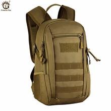 Outdoor Sport Backpack Small Military Tactical Waterproof School Bag 12 Liters of Ultra-mini Travel Shoulder Z52