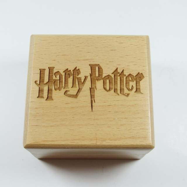 Handmade Wooden Harry Potter Music Box Special Souvenir Gift Birthday Gifts Free Shipping