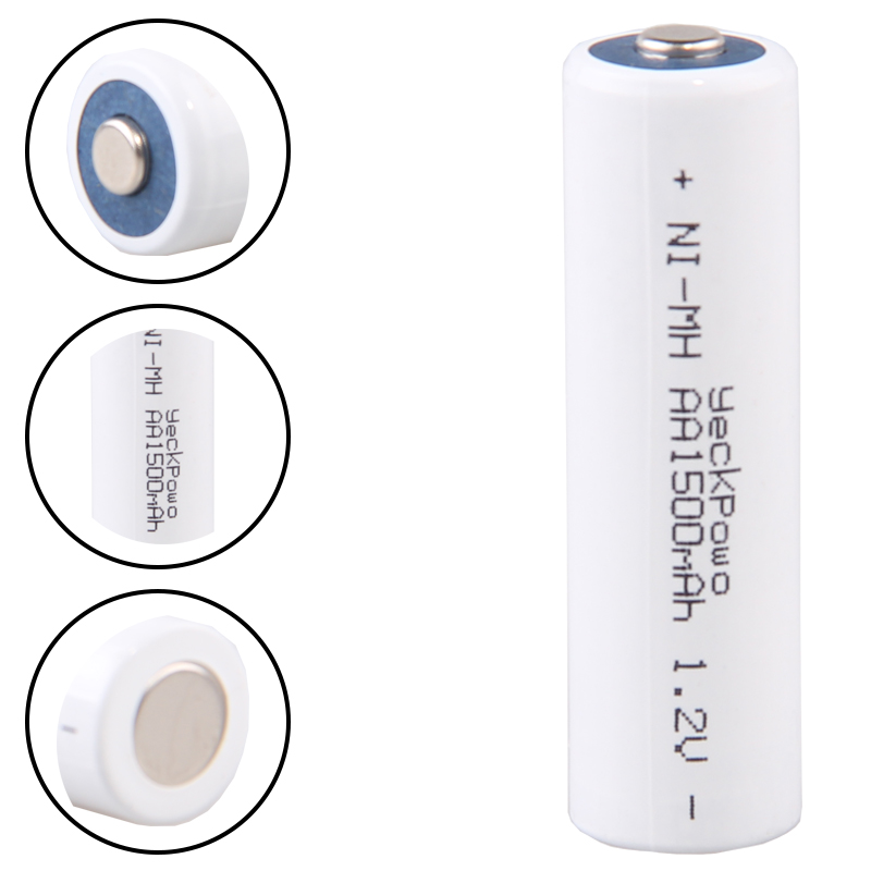 Lowest price 20 piece AA battery 1 2v batteries rechargeable 1500mAh nimh battery for power tools akkumulator in Replacement Batteries from Consumer Electronics