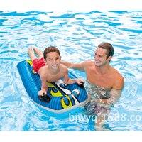 pvc toy 112*62CM inflatable big kickboard water board swimming pool water rider baby animal rider air mat mattress B39001