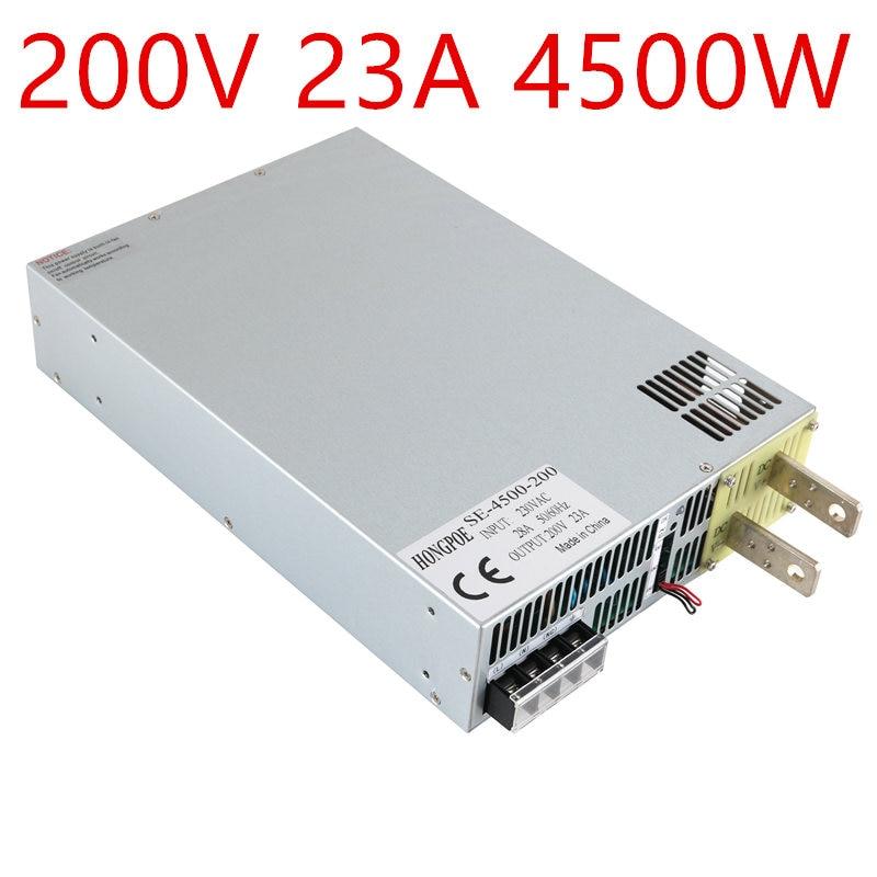 4500W 200V 22.5A DC20-200v power supply 200V22.A AC-DC High-Power PSU 0-5V analog signal control 3-phase 3-wire 200VAC, 380VAC new original sgdm 10ada 200v servopack single 3 phase