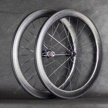 Карбоновые колеса, карбоновые колеса 45/50/58/80 мм, карбоновые колеса 700C, лучший бюджет на продажу с фиксированными ступицами Ridea